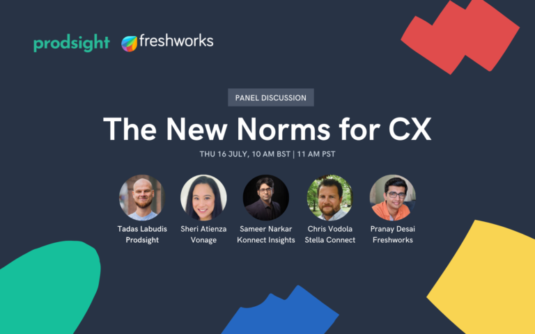 Panel on The New Norms for Customer Experience
